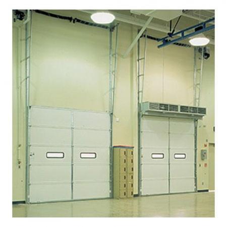 Puerta seccionabl acero perfiles 422 uso pesado for Cocinas schmidt vitoria